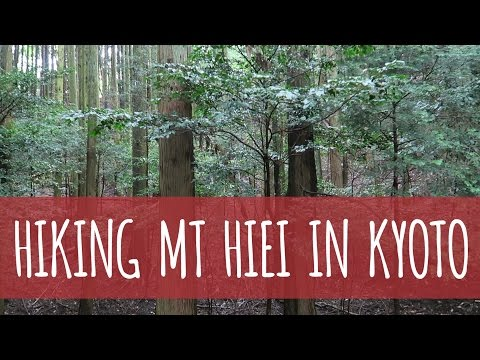 Hiking Mt Hiei In Kyoto