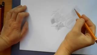 Курс академического рисунка. Урок 3. Штриховка и набросок
