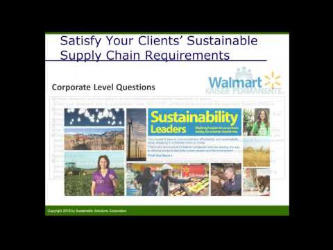 Supply Chain Optimization - Sustaining Success in a Resource Constrained World