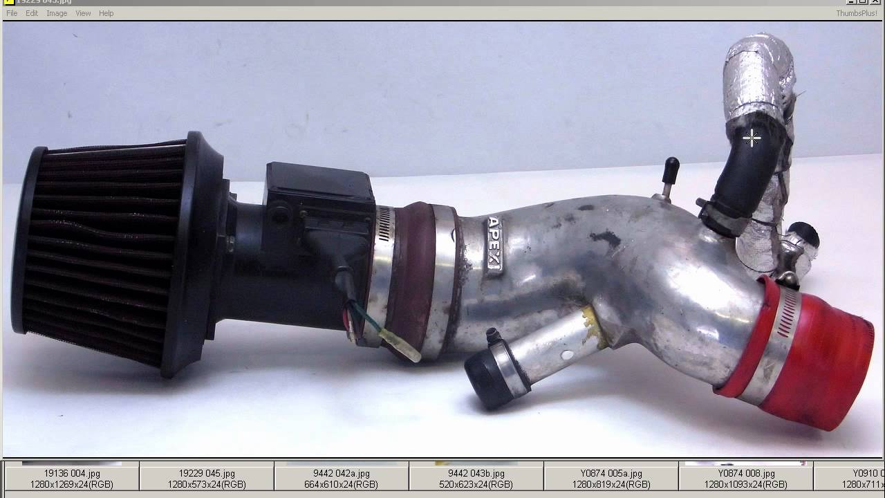 Apexi power suction pipe kit intake + filter + Z32 AFM ...