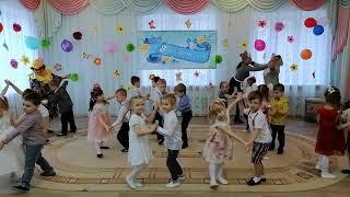 Детки конфетки - танец на празднике в детском саду