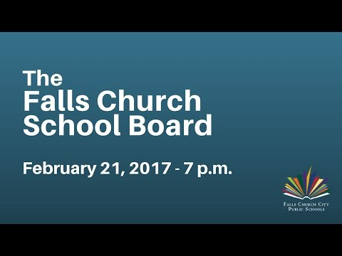 School Board Work Session: February 21, 2017