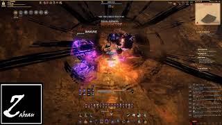 Zabeau's Black Desert Online 220AP Sorcerer Rude Brimstone Grinding PVE 220공 60 소서러 루드 유황 광산 사냥
