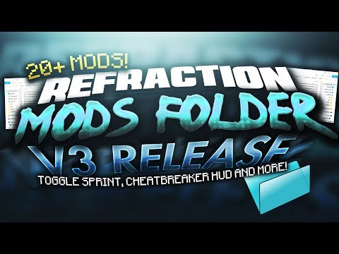 MOD FOLDER V3 RELEASE! - 20+ of the BEST Mods for Hypixel & Minecraft PvP