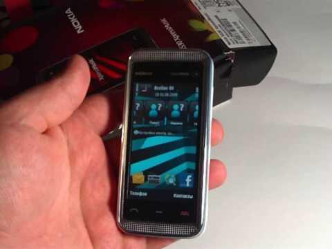 Внешний вид и интерфейс Nokia 5530 XpressMusic