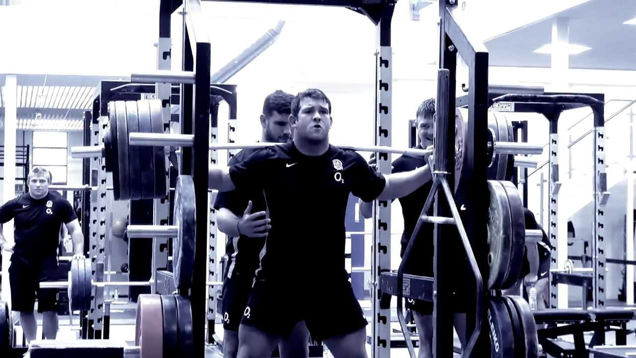 In the gym with England Rugby - YouTube