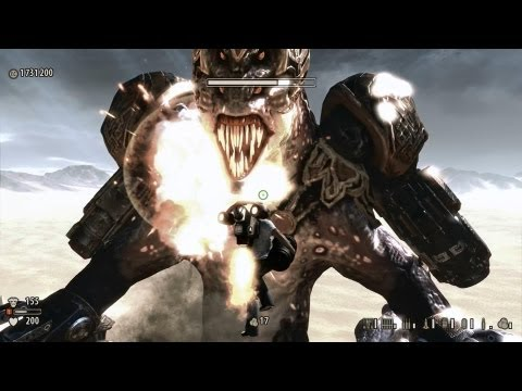 Serious Sam 3 BFE PC Intro, Last Level, Final Boss fight and Ending |