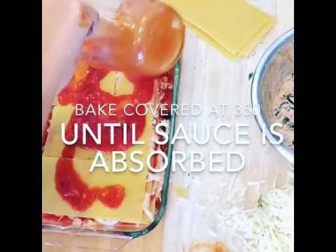 How to make No Boil Lasagna