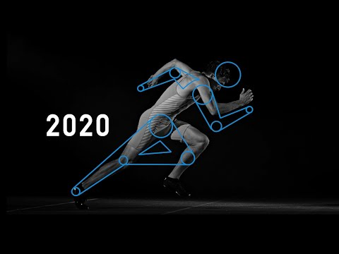 Concept video of the Olympic Games Tokyo 2020 sport pictograms