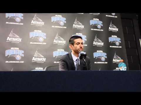James Borrego New York Knicks Postgame Interview