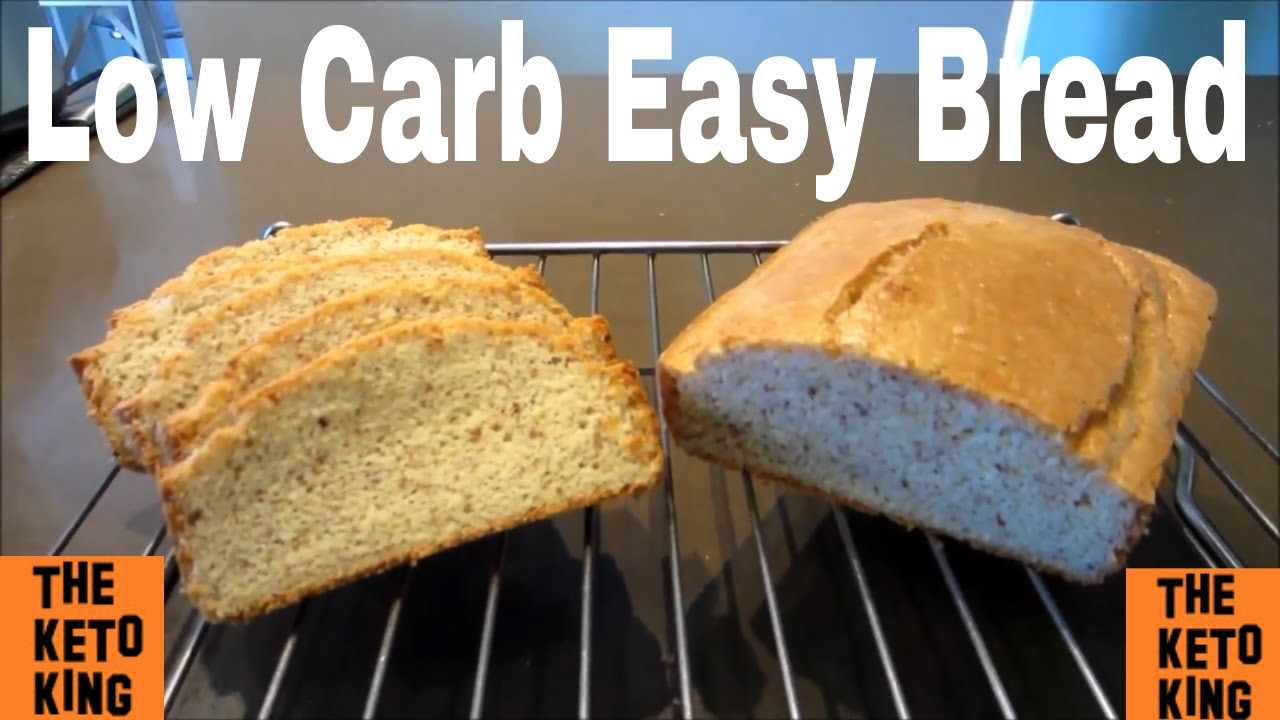Low Carb Easy Bread | Keto Bread | Bread Substitute