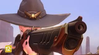 Новый герой Overwatch снайпер Эш • 29 hero Overwatch sniper Ashe