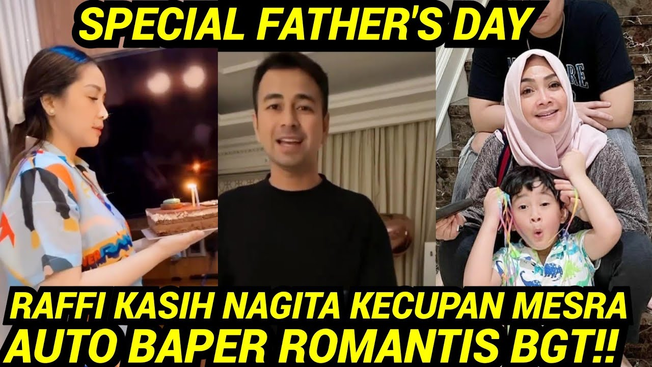 MAMA RIETA TIBA2 NONGOL, NAGITA & RAFATHAR KASIH KEJUTAN SPECIAL FATHER'S DAY UNTUK RAFFI!