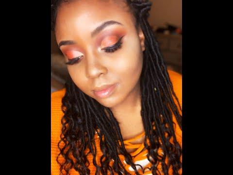 Burnt Orange Makeup Tutorial thumbnail