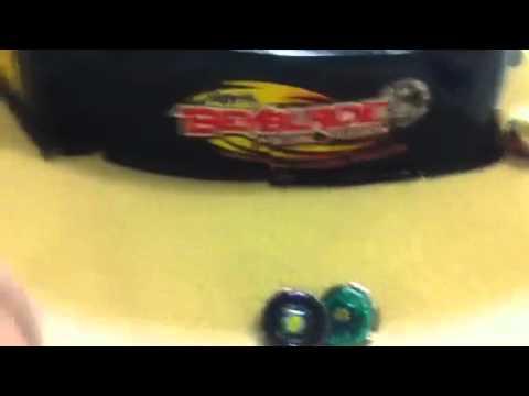 Beyblade Battle Ray Sticker Vs Storm Aqwario