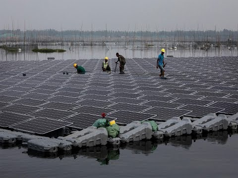 China to build world's largest floating solar power plant in major commitment to