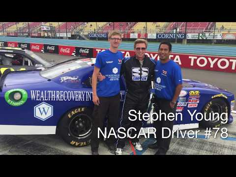 Wealth Recovery Sponsors Stephen Young in NASCAR Xfinity Series