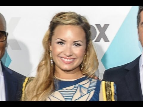 "Demi Lovato Tired of ""Nagging"" Simon Cowell on ""The X-Factor USA"""