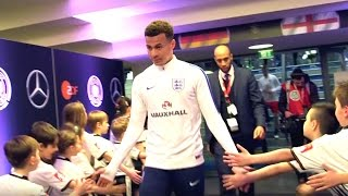 Germany v England - (Exclusive) Tunnel Cam   Inside Access