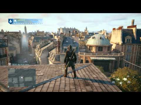 Assassins Creed® Unity: Parkour Gameplay