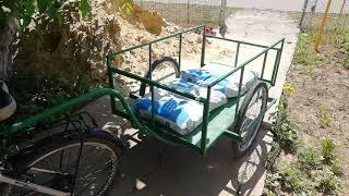 прицеп для велосипеда своими руками для домашнего пользования