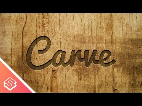 Inkscape Tutorial: Carved Wood Effect