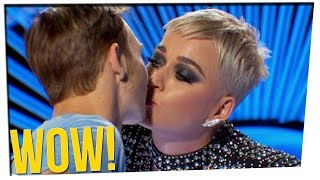 Katy Perry STOLE His First Kiss!? ft. Steve Greene & DavidSoComedy