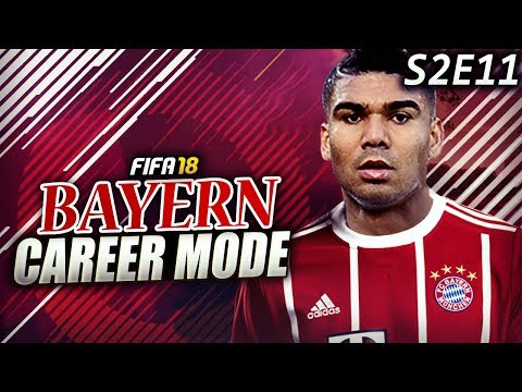CRAZY DEADLINE DAY SIGNING! CASEMIRO JOINS THE BAVARIAN GIANTS!!! - FIFA 18 Bayern Career Mode S2E11