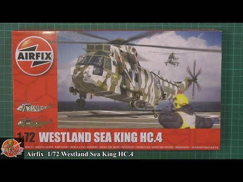 Airfix 1/72nd Wesland Sea King HC.4 Preview