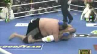 Royce gracie vs. Sumo wrestler