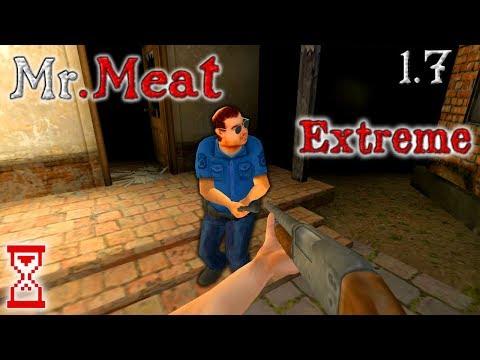 Комфортное прохождение Мистера Мита на Экстриме   Mr. Meat 1.7