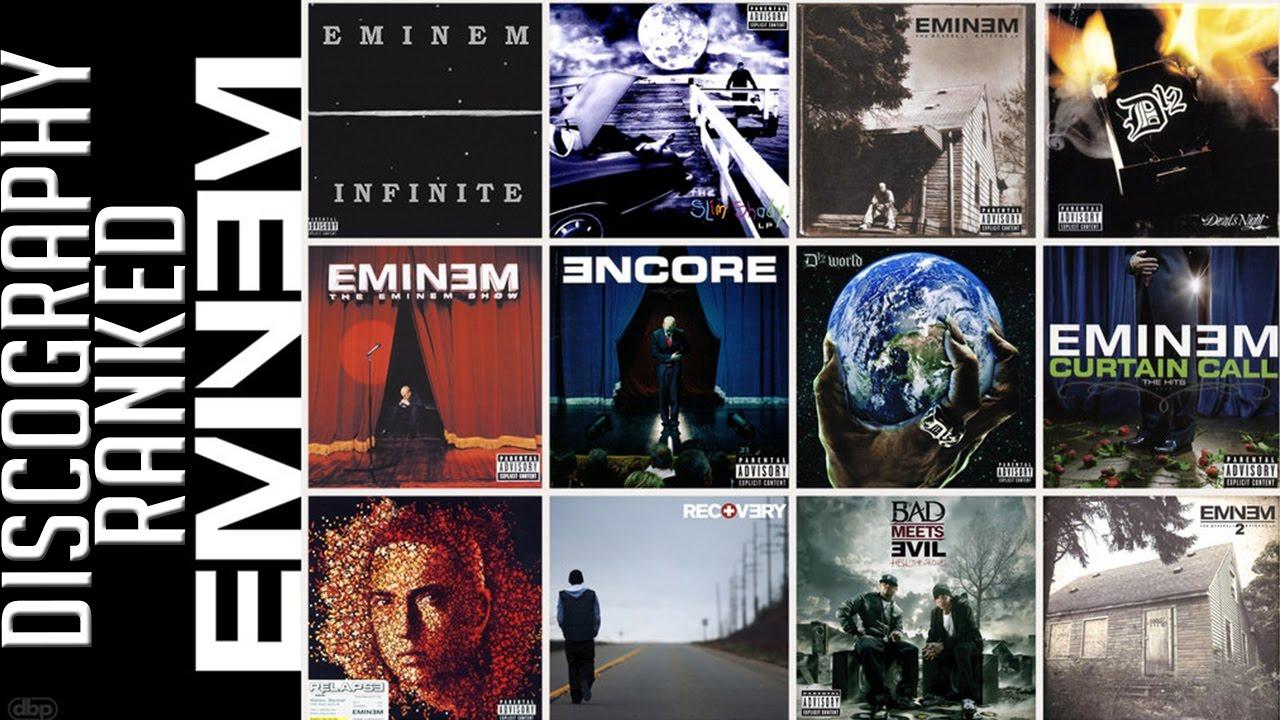 Eminem - Kolekcja (1989-2018) MP3