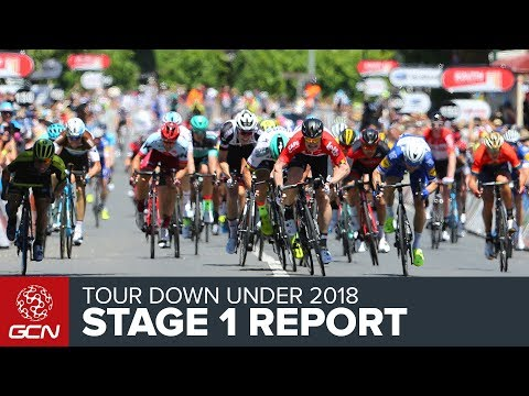 Tour Down Under 2018 | Stage 1 Race Report