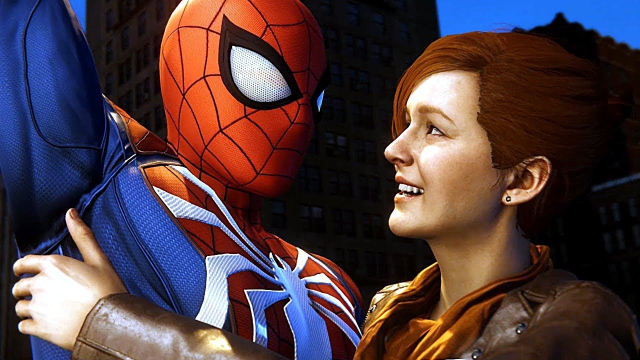 Spider-Man Saves Mary Jane From Falling | Spider Man Ps4 Walkthrough Part 15