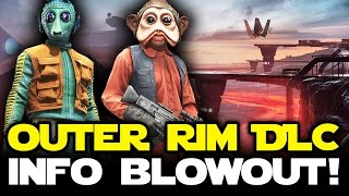 Star Wars Battlefront News: OUTER RIM DLC IN-DEPTH! New Weapons, Heroes, Maps and Star Cards!