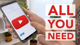 How to Start a YOUTUBE CHANNEL with your PHONE
