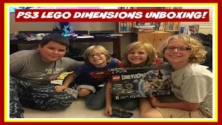 Video PS3 Lego Dimensions Starter Pack Surprise and Unboxing download MP3, 3GP, MP4, WEBM, AVI, FLV Juli 2018