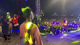 Strongman Performs With Medikal At Sowutuom Concert