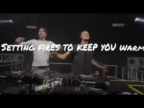 The Chainsmokers ft. XYLØ - Setting Fires [LYRICS]