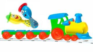 Развивающие мультфильмы - музыкальные инструменты - игрушки для малышей