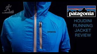 Running jacket - The Houdini from Patagonia - Fullcoursetrails review