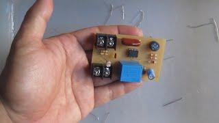 hướng dẫn mạch cảm biến ánh sáng tự động bật đèn khi trời tối _ kênh chế tác