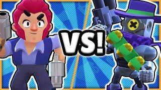 BRAWL STARS - COLT VS RICOCHET! - WHO'S THE BETTER BRAWLER?!