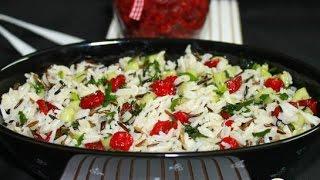 Салат с рисом и вяленой вишней  Пошаговый рецепт