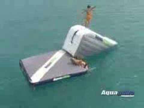Aquaglide Airport Swim Platform From Bay Sports Australia Youtube