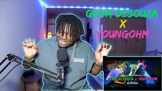 คึกคะนอง - GENA DESOUZA x YOUNGOHM   reaction by The Black Kid(Thai Rap Song) (reupload)