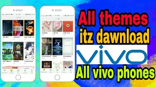 Download How To Apply Itz Theme All Vivo Phones Dawnload Itz Mj Help
