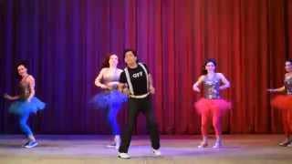 Jaan Pehechaan Ho, Mohammad Rafi, Live in Russia, Gumnaam Dance Song, Biru Saraswati's Concert, Биру