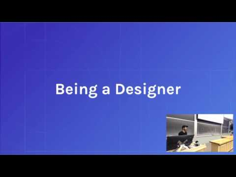 UM Product Design Lecture #12: Working as a designer