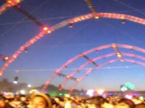 Dash Berlin / Showtek - Live @ The Circuit Grounds, EDC Vegas 2011 SUNRISE!